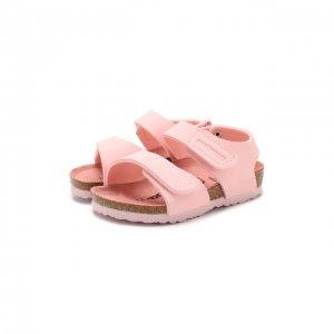 Босоножки Birkenstock. Цвет: розовый
