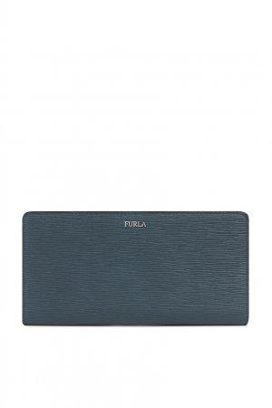 Темно-синий кошелек Marte FURLA. Цвет: серый