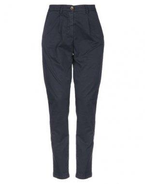 Повседневные брюки AERONAUTICA MILITARE. Цвет: темно-синий