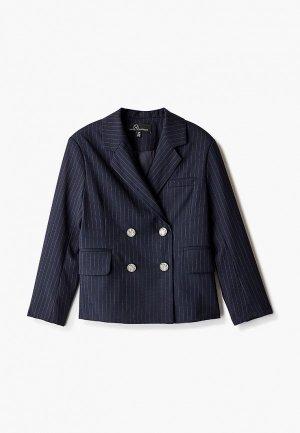 Пиджак DanMaralex. Цвет: синий