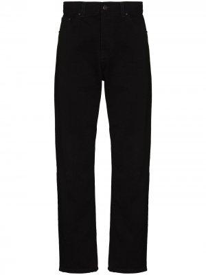 Зауженные джинсы Newel Carhartt WIP. Цвет: черный