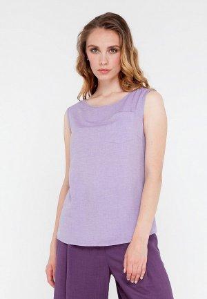 Блуза Gregory. Цвет: фиолетовый
