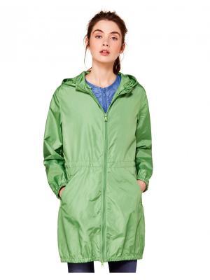 Ветровка United Colors of Benetton. Цвет: зеленый, морская волна