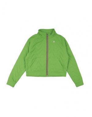 Куртка K-WAY. Цвет: светло-зеленый