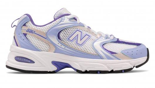 Кроссовки Mens Athlertic Footwear New Balance. Цвет: фиолетовый