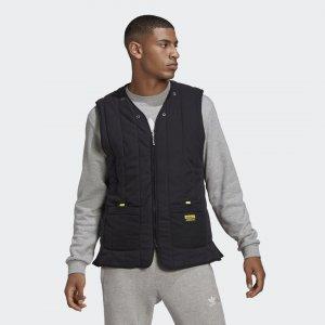 Утепленный жилет R.Y.V. Originals adidas. Цвет: черный
