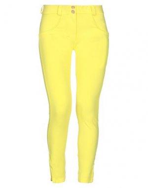 Брюки-капри FREDDY WR.UP®. Цвет: желтый