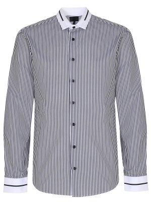 Рубашка Regular Fit в полоску LES HOMMES
