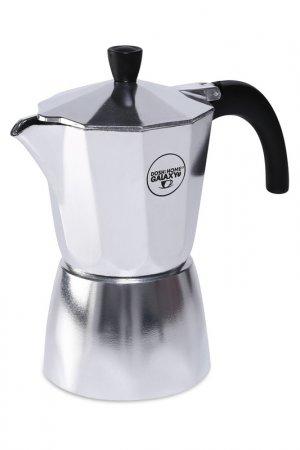 Кофеварка 6чашек DOSH I HOME. Цвет: серебряный