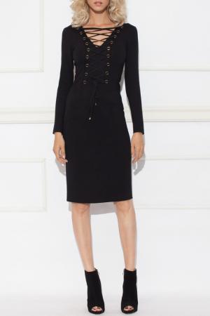 Платье Nissa. Цвет: black
