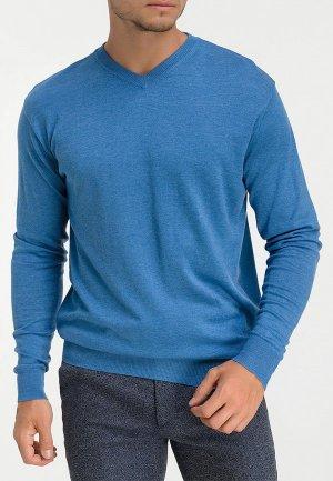 Пуловер Greg. Цвет: голубой