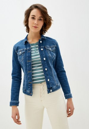 Куртка джинсовая Mavi DAISY. Цвет: синий