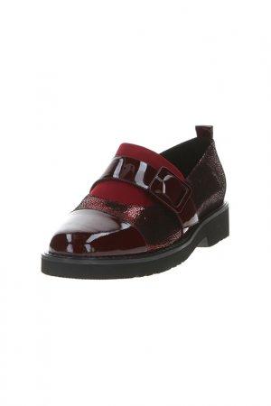 Туфли Lanneret. Цвет: бордовый
