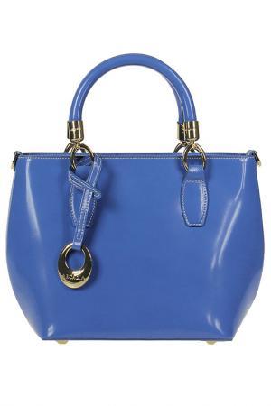 Сумка Arcadia. Цвет: голубой