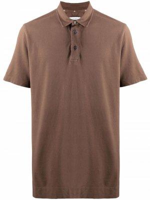 Рубашка поло Ballantyne. Цвет: коричневый