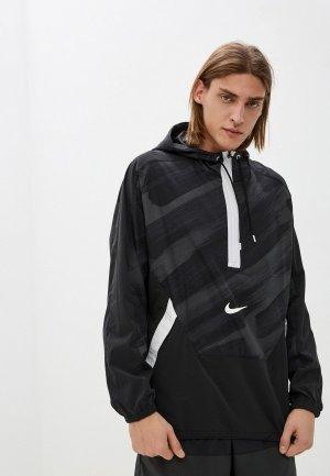 Ветровка Nike M NK DF SC WVN HD JKT. Цвет: серый