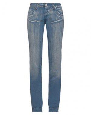 Повседневные брюки COMPAGNIA ITALIANA. Цвет: грифельно-синий