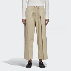 Укороченные брюки Y-3 CL by adidas. Цвет: хаки