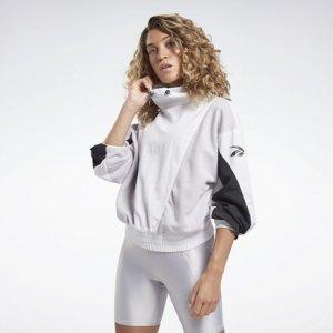 Спортивная куртка Studio High Intensity Reebok. Цвет: white