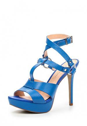 Босоножки Cristofoli CR574AWHHA85. Цвет: синий