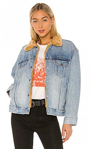 Джинсовая куртка LEVIS LEVI'S. Цвет: синий