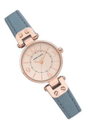 Часы Anne Klein. Цвет: голубой, розовый