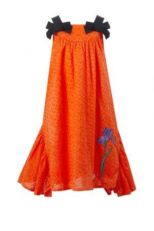 Сарафан STEFANIA. Цвет: оранжевый