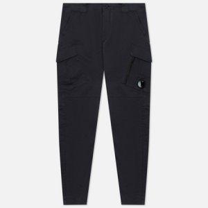 Мужские брюки Stretch Sateen Tapered C.P. Company. Цвет: синий