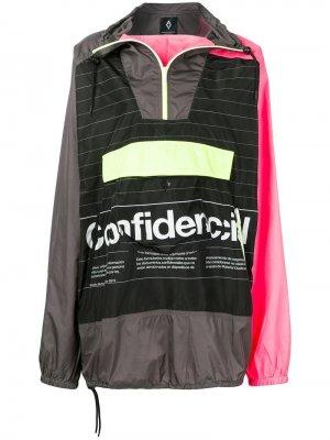Куртка-пуловер Confidencial с капюшоном Marcelo Burlon County of Milan. Цвет: черный