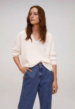Пуловер Mango - BOOP. Цвет: бежевый