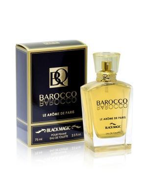 Туалетная вода Barocco Black Magic 75 ml/ж. Цвет: прозрачный