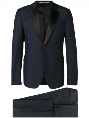 Вечерний костюм-двойка Givenchy. Цвет: синий