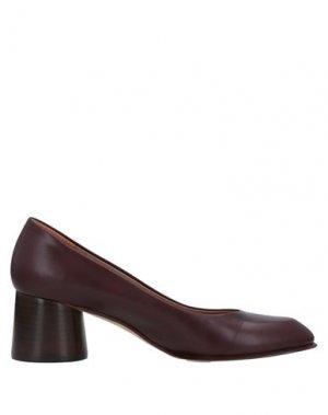 Туфли ANTONIO BARBATO. Цвет: красно-коричневый