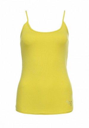 Майка Naf NA018EWBRZ65. Цвет: желтый