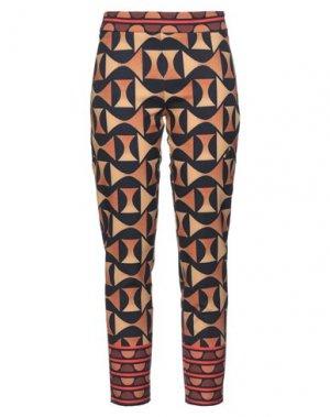 Повседневные брюки GAI MATTIOLO. Цвет: коричневый