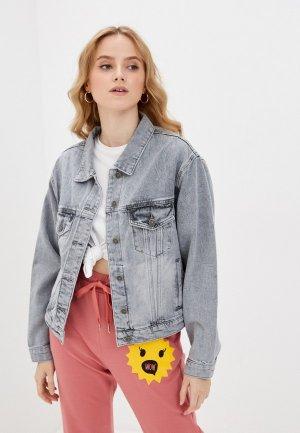 Куртка джинсовая Mossmore. Цвет: серый