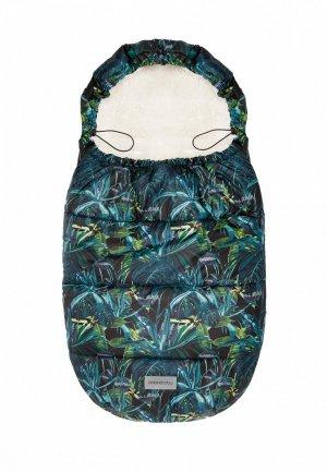 Конверт Amarobaby Snowy Baby Тропики, 105 см.. Цвет: разноцветный