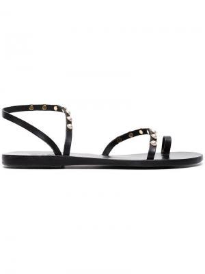 Сандалии Apli Eleftheria с жемчугом Ancient Greek Sandals