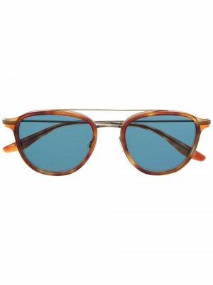 Солнцезащитные очки Courtier Barton Perreira. Цвет: коричневый