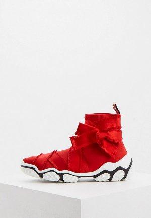 Кроссовки RED(V). Цвет: красный