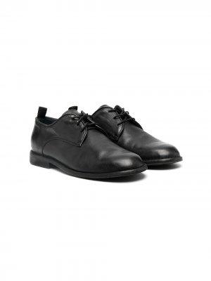 Туфли на шнуровке Gallucci Kids. Цвет: черный