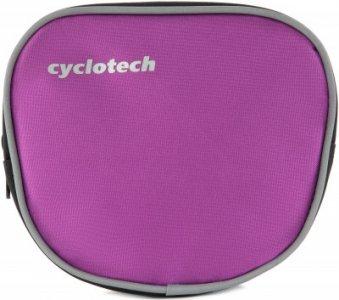 Сумка на велосипед Cyclotech. Цвет: фиолетовый