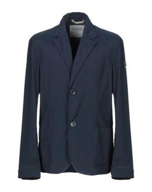 Пиджак GEOSPIRIT. Цвет: синий