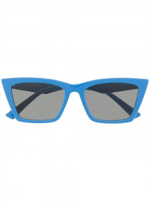 Солнцезащитные очки Talin в оправе кошачий глаз Gentle Monster. Цвет: синий