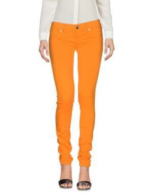 Повседневные брюки FREESOUL. Цвет: оранжевый
