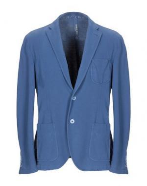 Пиджак MANUEL RITZ WHITE. Цвет: синий