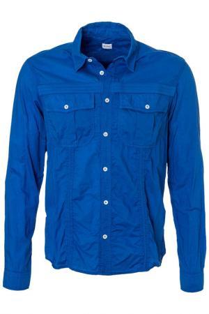 Рубашка Jet Set. Цвет: синий