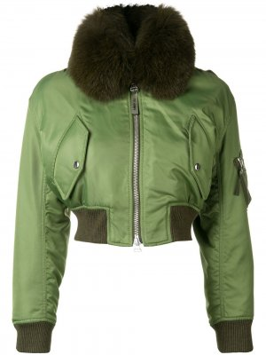 Укороченная куртка-бомбер Yves Salomon Army