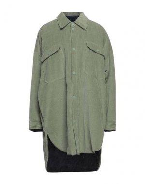 Pубашка ATTIC AND BARN. Цвет: зеленый-милитари