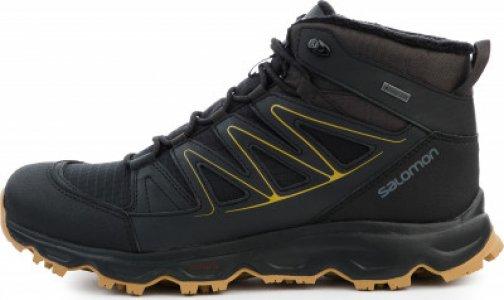 Ботинки утепленные мужские Cruzano, размер 40 Salomon. Цвет: черный